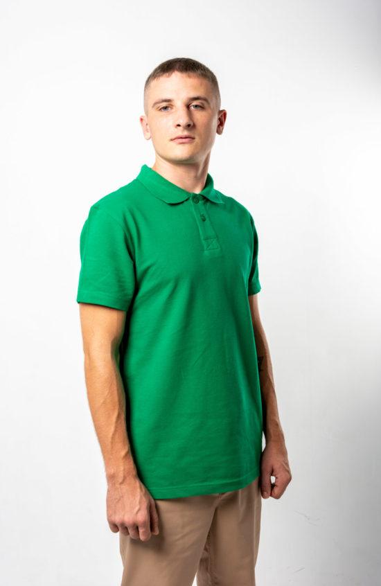 Поло 1 зеленая