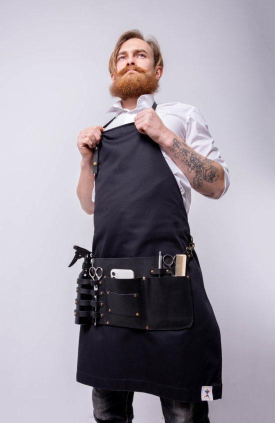 Фартук-сумка Рибай черная