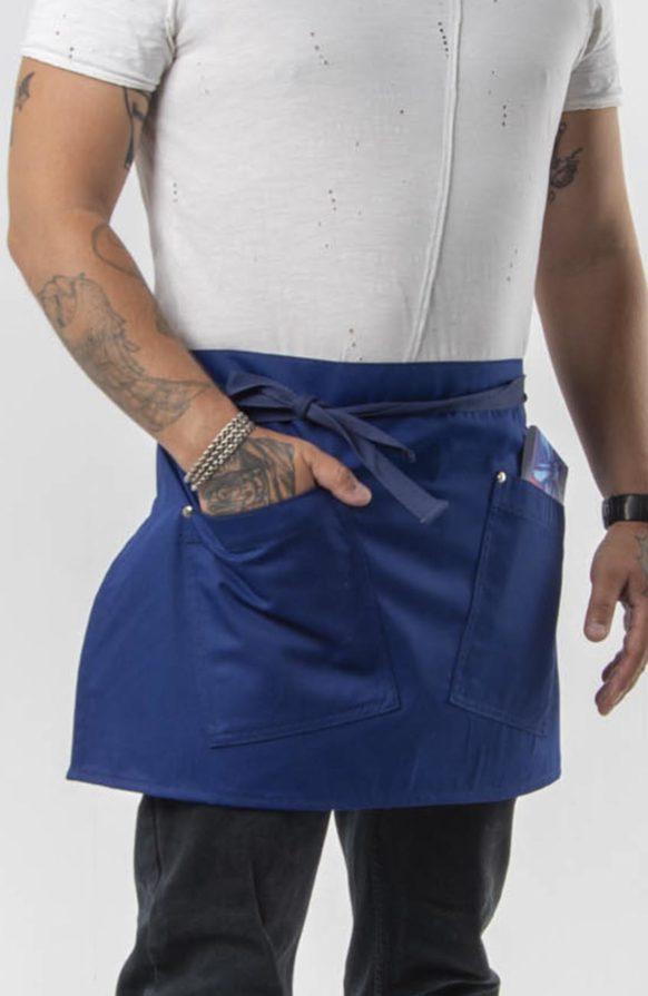 Капер василек с синей лентой