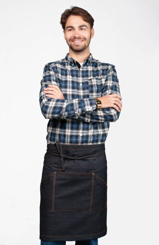 Короткие Фартуки Слинг джинс