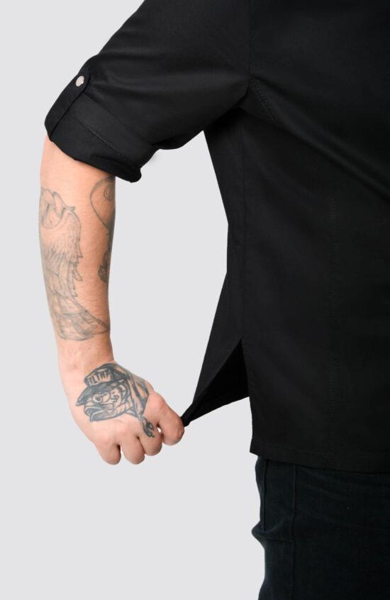 Кители Поварская форма Поварская рубашка Рамен ткань Твил