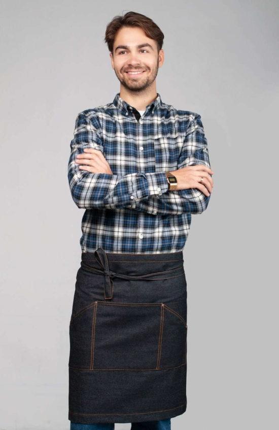 Слинг черный джинс