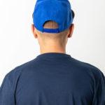Бейсболка 6-ти клинка синяя