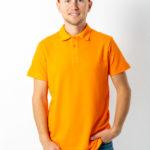 Поло 1 оранжевая