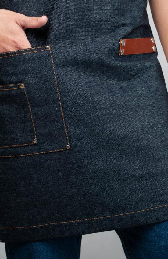 Манхэттен темно-синий джинс