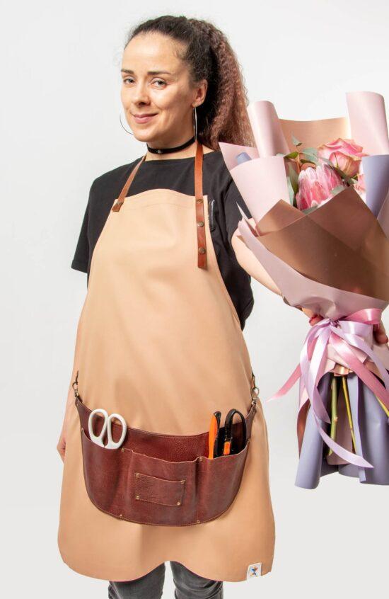 Барбера Фартуки Фартук-сумка Тибон + фартук с нагрудником