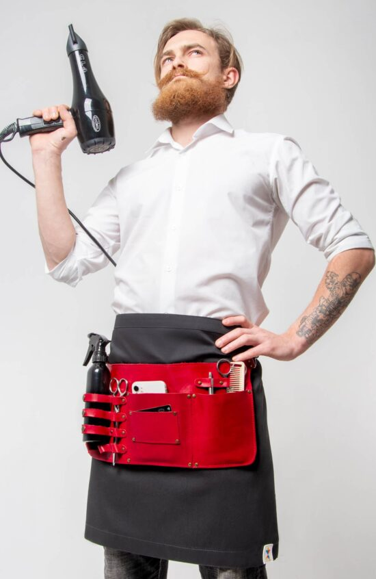 Барбера Фартуки Фартук-сумка Рибай + поясной фартук