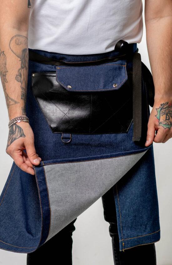 Короткие Фартуки ·Камамбер джинс